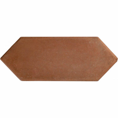 8 inch Picket Handcrafted Lincoln Red Terra Cotta