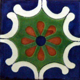 Arabesque Azul Tile