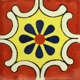 Arabesque Terra Cota Tile