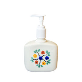 Soap Dispenser with flowers