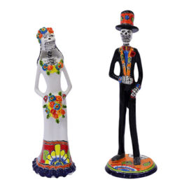 Sculptures of Bride and Groom