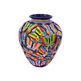 Colorful Butterflies Jar