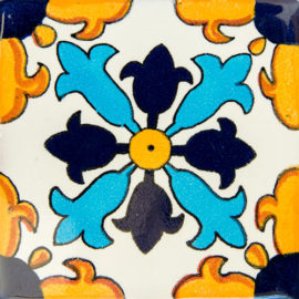 Cuatro Puntas Patterned Tile