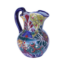 Colorful Water Pitcher
