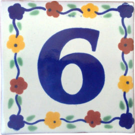 Numbers Guia Bouquet Tile