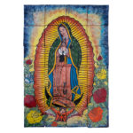 Virgen De Guadalupe Rose De Colores Mural
